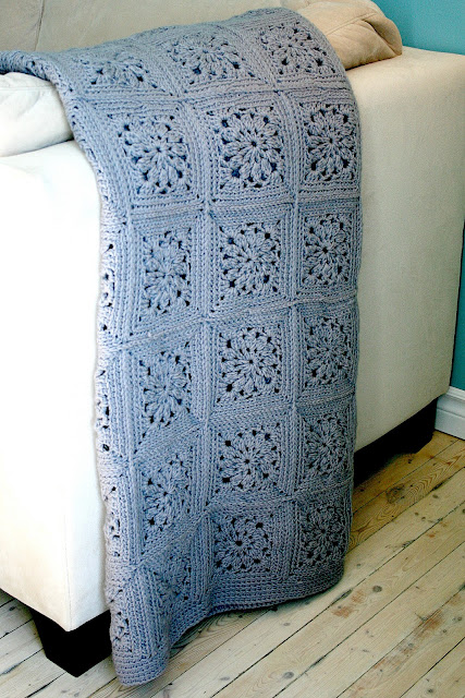 couverture granny crochet