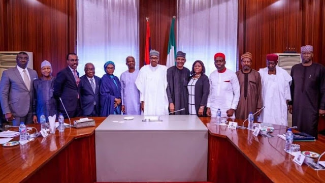 Details of President Buhari's meeting with new economic team emerge