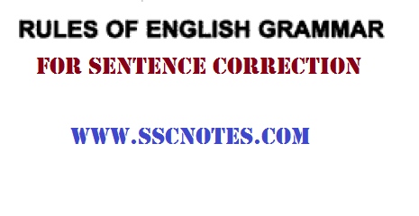 80 Rules for Sentence Correction PDF Download