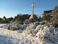 snijeg Vidova gora slike otok Brač Online