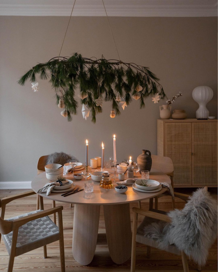 Dreaming of a Cosy and Calm White Christmas In Johanna's Home