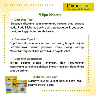 ada 4 tipe diabetes