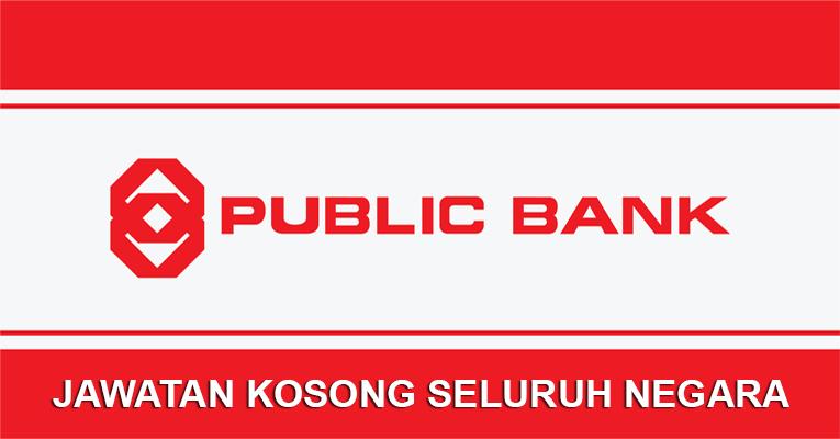 Jawatan Kosong di Public Bank Berhad 2019 - Seluruh Negara