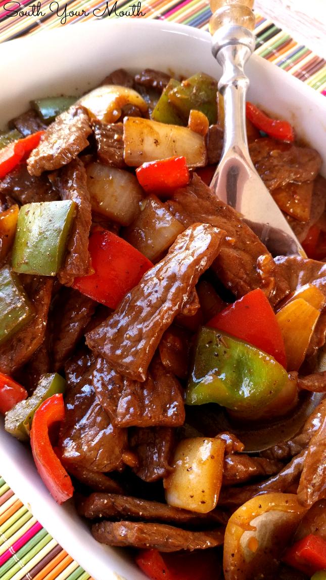 strips recipe steak