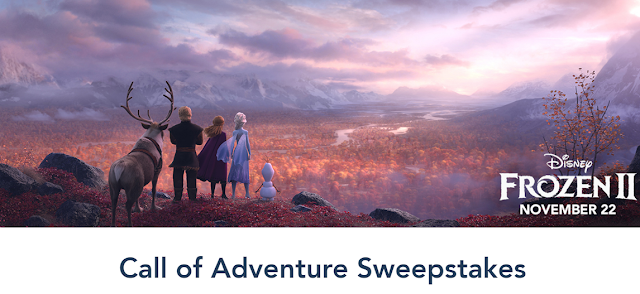 The Disney Vacation Club wants you to answer the Call Of Adventure and enter once for the chance to win a magical Disney Vacation worth almost $8500!