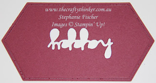 #thecraftythinker #animalouting  #childscard  #cardmaking #stampinup , animal outing, child's card, tip for die cutting to preserve cardstock, Stampin' Up Australia Demonstrator, Stephanie Fischer, Sydney NSW