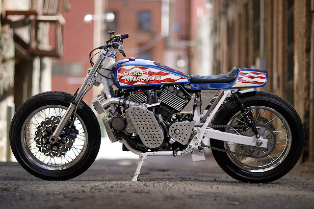 Harley Davidson Street 750 By Number 8 Wire Motorcycles Hell Kustom