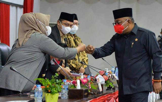 DPRD dan Pemprov Kepri Setuju Ranperda RPJMD Provinsi Kepri Tahun 2021-2026 Dijadikan Perda