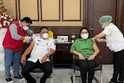 Vaksin Aman dan Halal, Gubernur Olly: Mari Jo Torang Sukseskan Program Vaksinasi