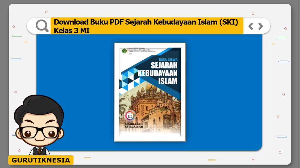 download buku pdf ski sejarah kebudayaan islam kelas 3 mi