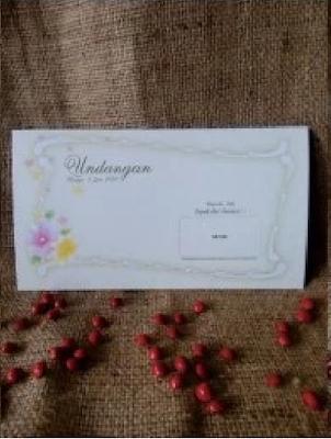 harga paket Undangan Pernikahan Softcover Simpel [88103] murah jakarta bekasi 2016 terbaru