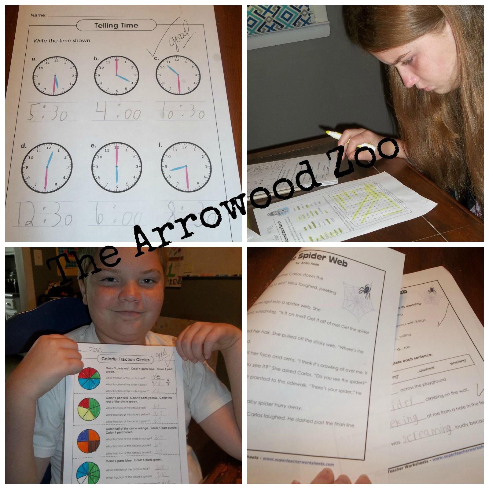 7th Grade Math Worksheets Super Teacher