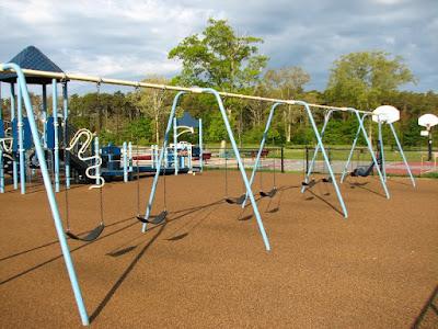 Eddy Elementary Swingset