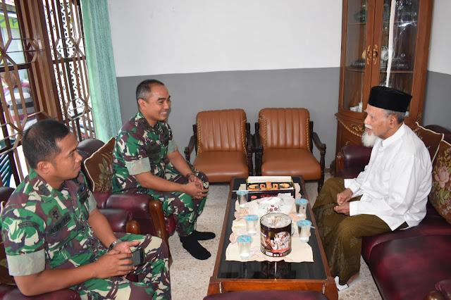 Dandim Demak Silaturahmi Dengan Ketua MUI Kabupaten Demak