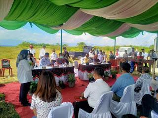 Peresmian Program Pengelolaan Sampah Terpadu, Kabupaten Toba Terima Alat Pembakaran Sampah