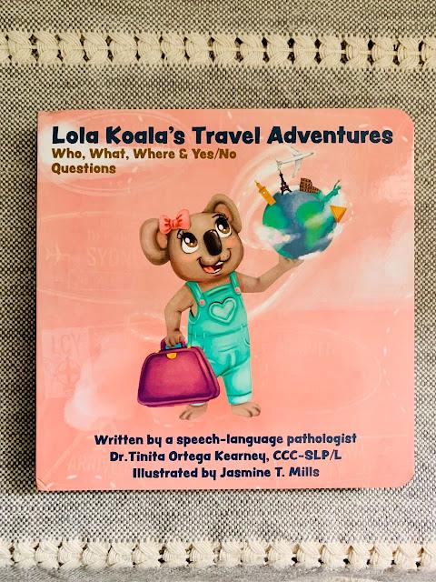 Lola Koala's Travel Adventures Book
