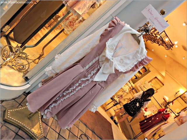 Tiendas de Moda en Takeshita, Tokio