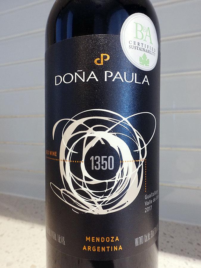 Doña Paula 1350 2017 (91 pts)
