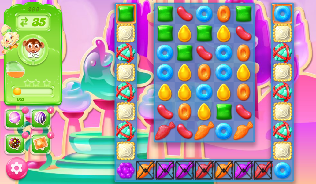 Candy Crush Jelly Saga 298