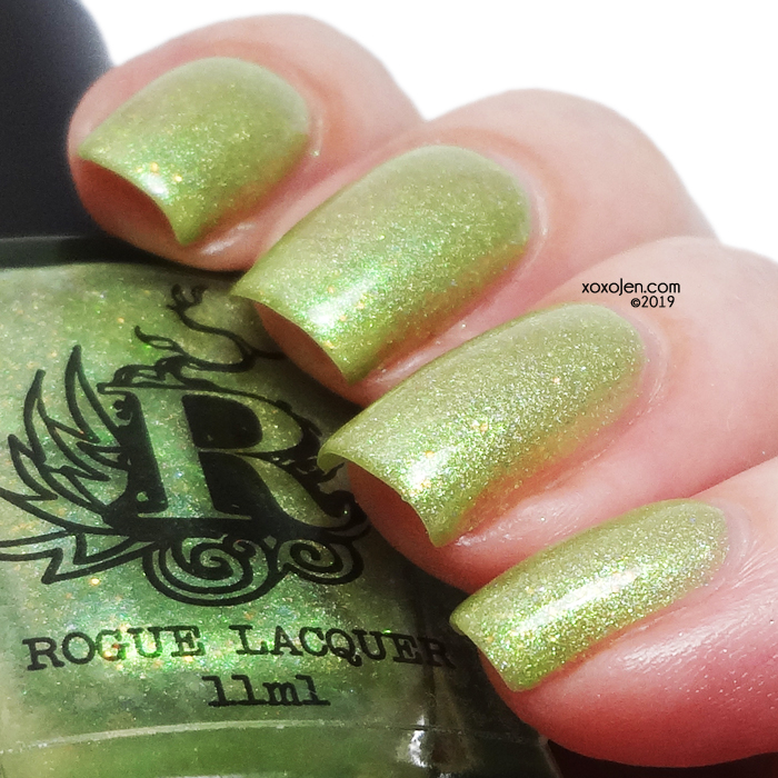 xoxoJen's swatch of Rogue Lacquer Picket