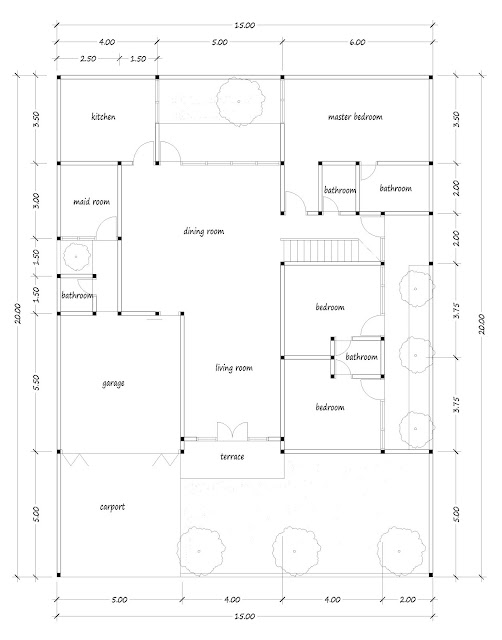 House with floor area of 300 square meters - 03