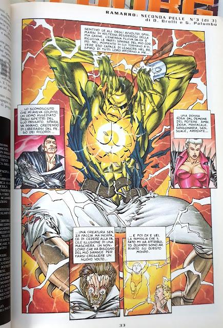 Cyborg rivista cyberpunk anni 90 Ramarro Palumbo