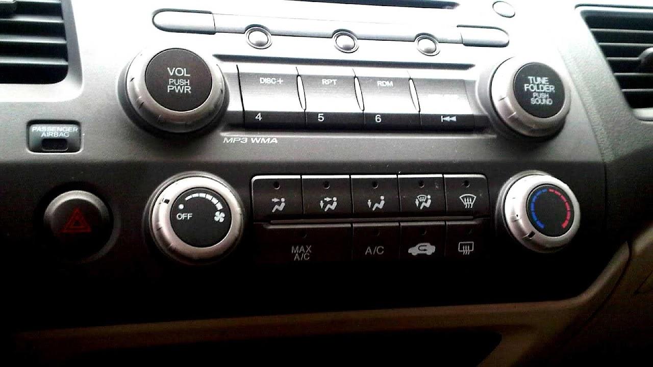 Honda Civic Radio Code >> 2010 Honda Civic Radio Code Radio Choices