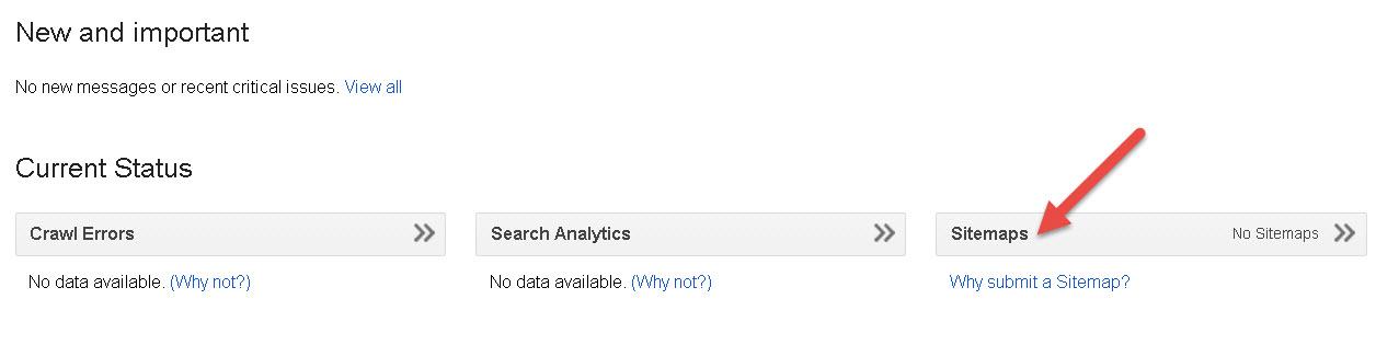 blog xml sitemap google search console hinglish help
