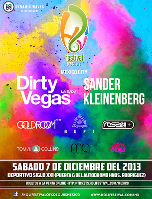 Holy Festival Of Colours México