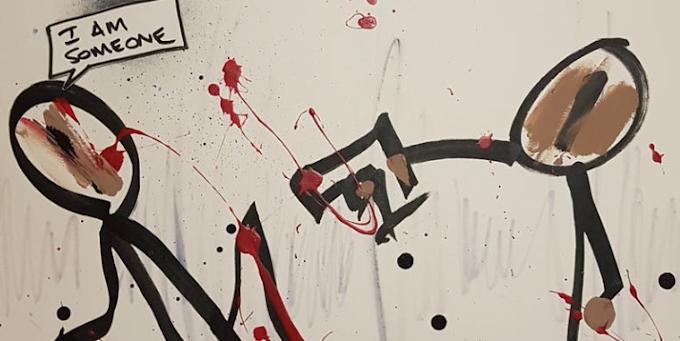 'Don't Shoot, I'm An Artist' by StefanRomeo at Vintner & Mason