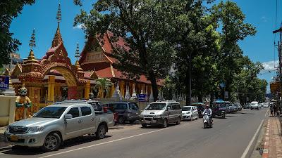 Rue Setthathilath in Vientiane