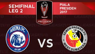 Lima Gol Gonzales Antarkan Arema FC ke Final Piala Presiden 2017