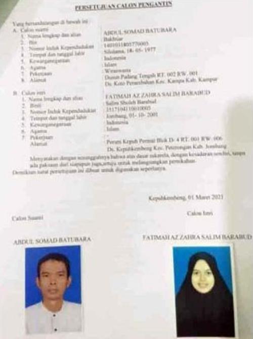 Keturunan Arab, Calon Istri Ustaz Abdul Somad Santri Pondok Gontor