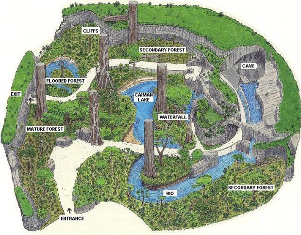 Selva Tropical del Biodôme de Montreal