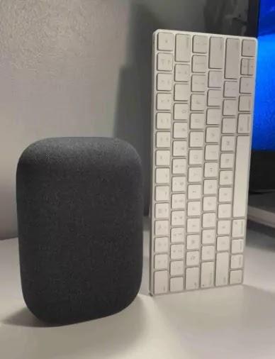 Google Nest Audio smart speaker detailes in early