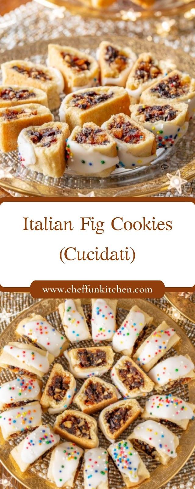 Italian Fig Cookies (Cucidati)