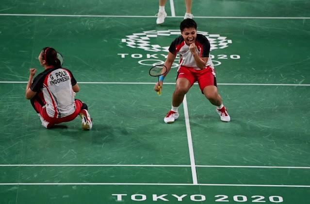 Pasangan Greysia/Apriyani Berhasil Meraih Medali Emas di Olimpiade Tokyo 2020
