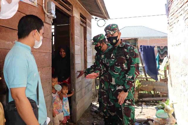 Dandim 0104/Aceh Timur Tinjau Langsung Lokasi TMMD Reguler ke-112 di Langsa