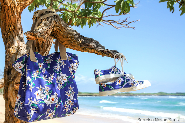 blue hawaii,bensimon,photo shooting,sac,cabas,tennis,orchidées,summer 2016,été 2016,hawaii,oahu