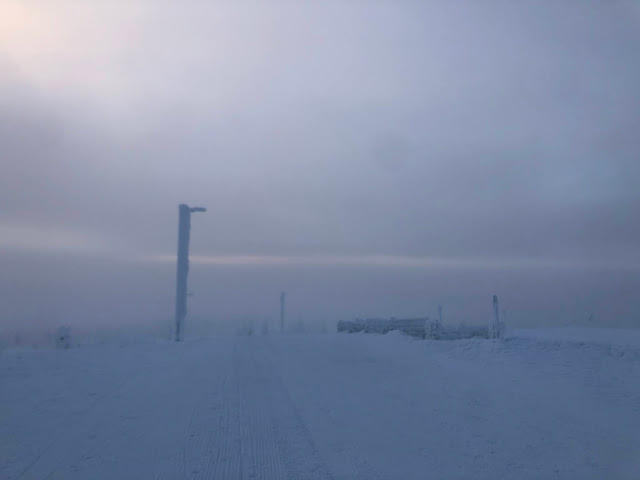 Suomen pisin pulkkamäki Saariselällä