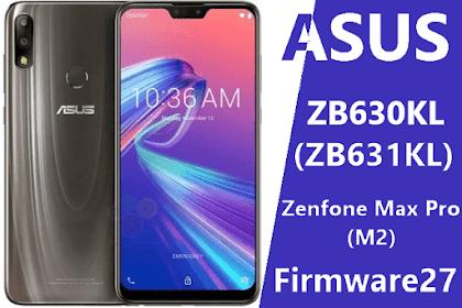 Firmware Asus X01BD Zenfone Max Pro (M2) ZB631KL / ZB631KL