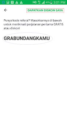 kode referral aplikasi grab