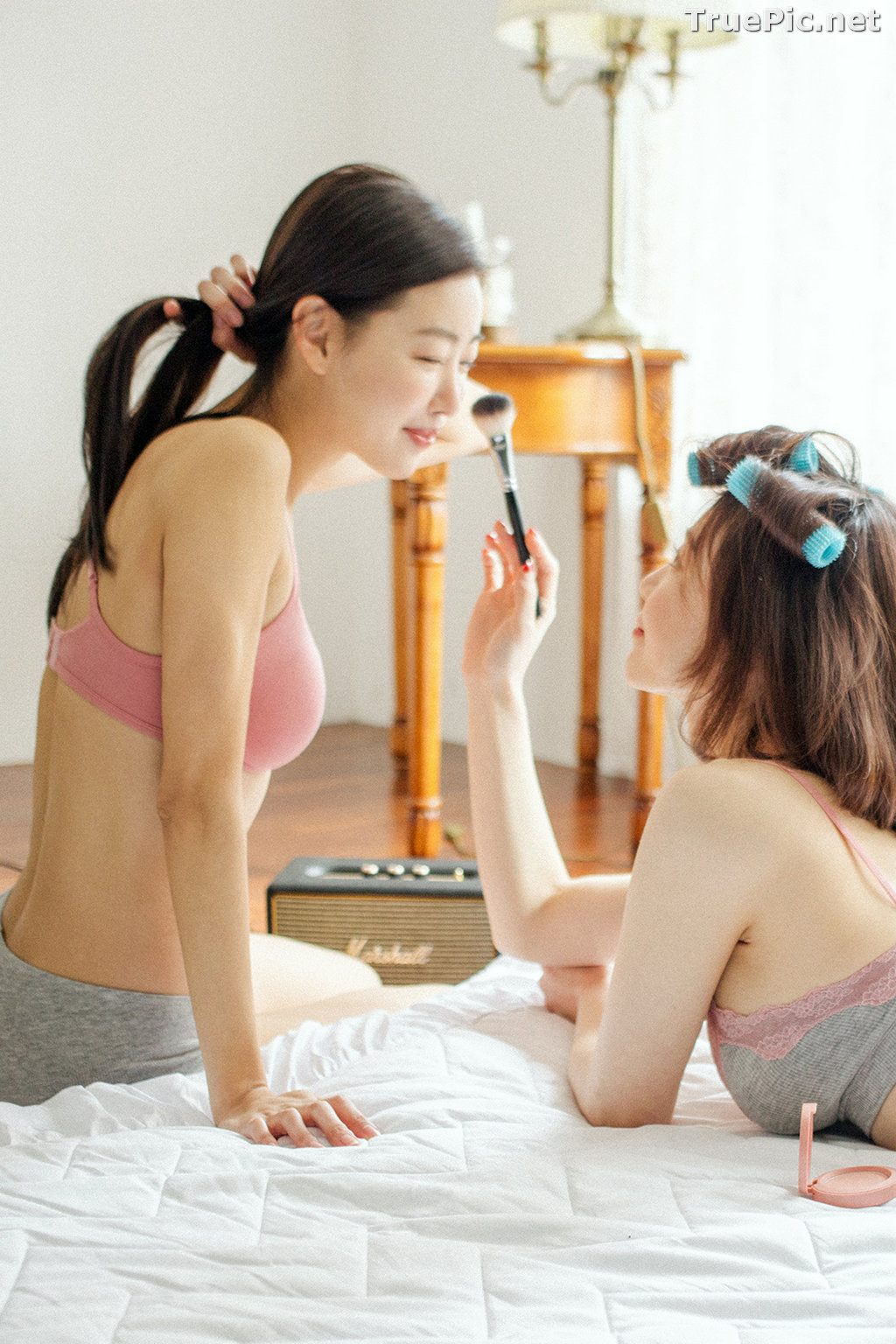 Image Korean Fashion Model - Jin Sol and Eun Hye - Ullala Lingerie Sets - TruePic.net - Picture-10
