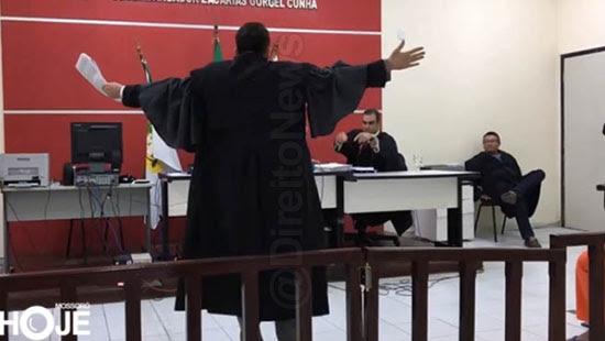 juri bate boca promotor advogado direito