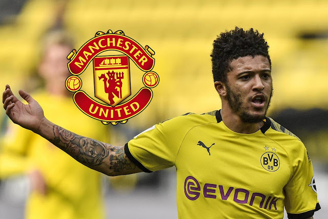 Manchester United will only pay £50m for Sancho, Napoli to sign Victor Osimhen