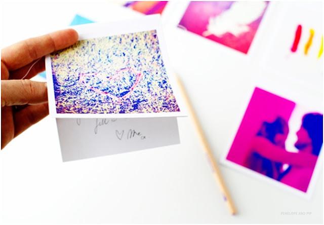 El Yapımı  Sürpriz Instagram Kartları.