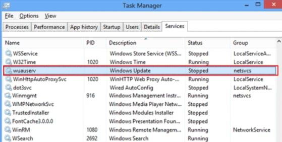 Fix a Wuauserv High CPU Usage Error