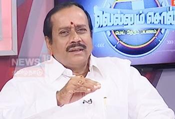 Interview With H.Raja (The BJP National Secretary) | Vellum Sol | News18 Tamil Nadu