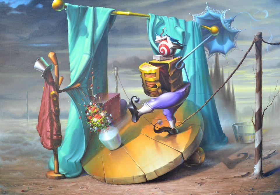 Evandro Schiavone | Pintura surrealista