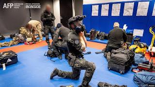 Australia ikut dalam Penggerebekan Global terhadap Kriminal Terorganisir